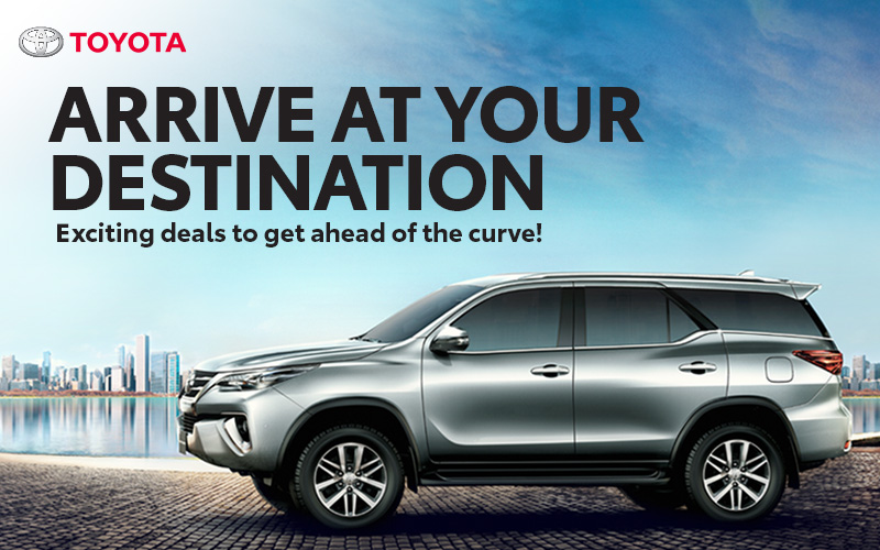 Arrive At Your Destination With Exciting July Deals From Toyota