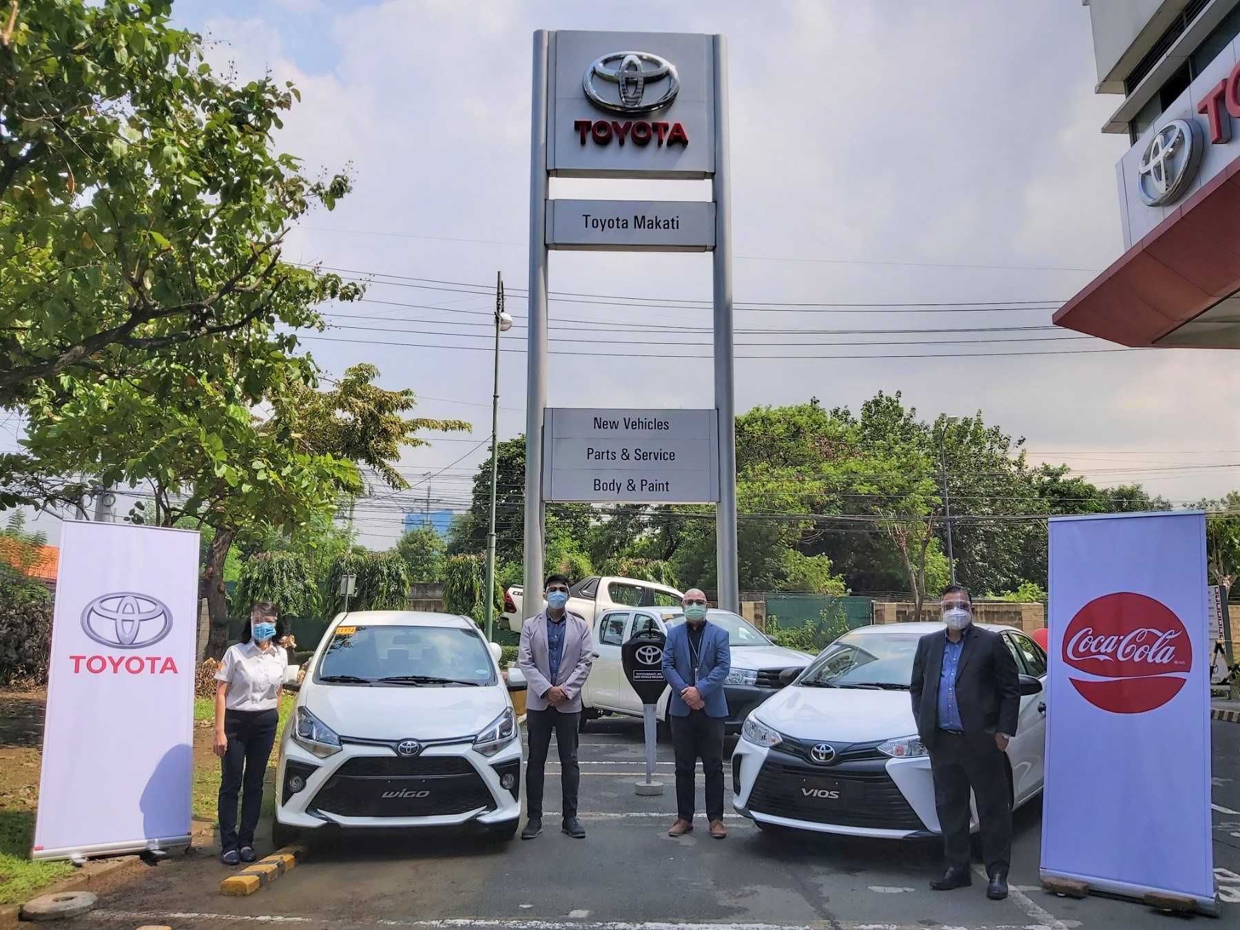 Coca-Cola Beverages Philippines partners with Toyota Motor Philippines for employee fleet solution