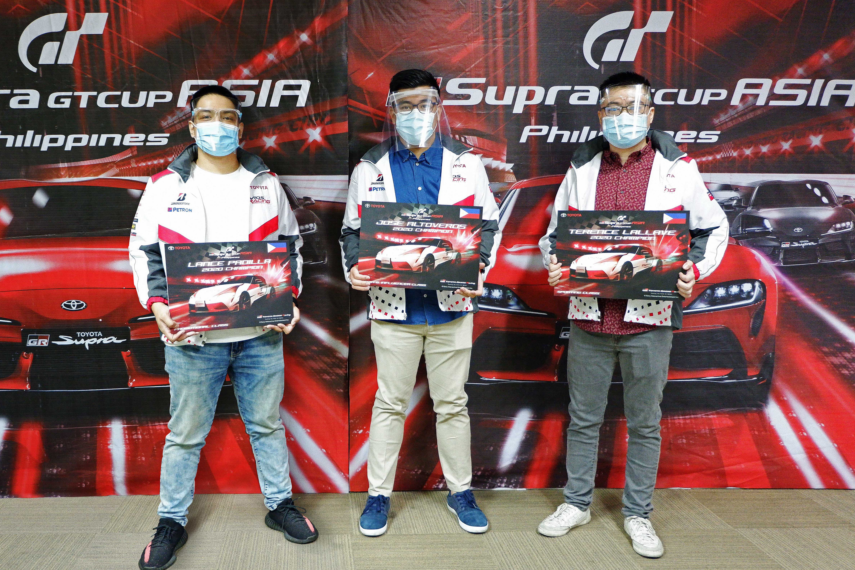 """GR Supra"" debuts in the digital realm of Gran Turismo Sport in Asia"
