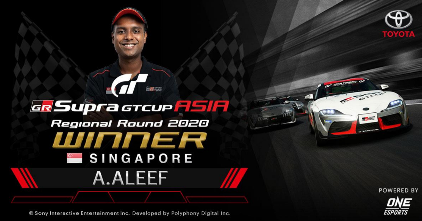 """Who came out tops in the """"GR Supra GT Cup ASIA 2020""""?"""