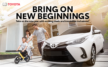 Bring on New Beginnings with a New Toyota!