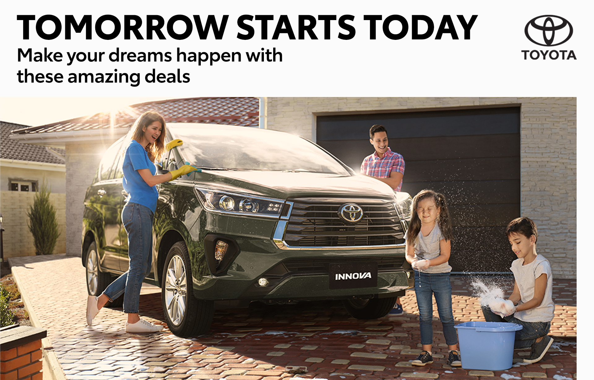 Tomorrow Starts Today with Toyota