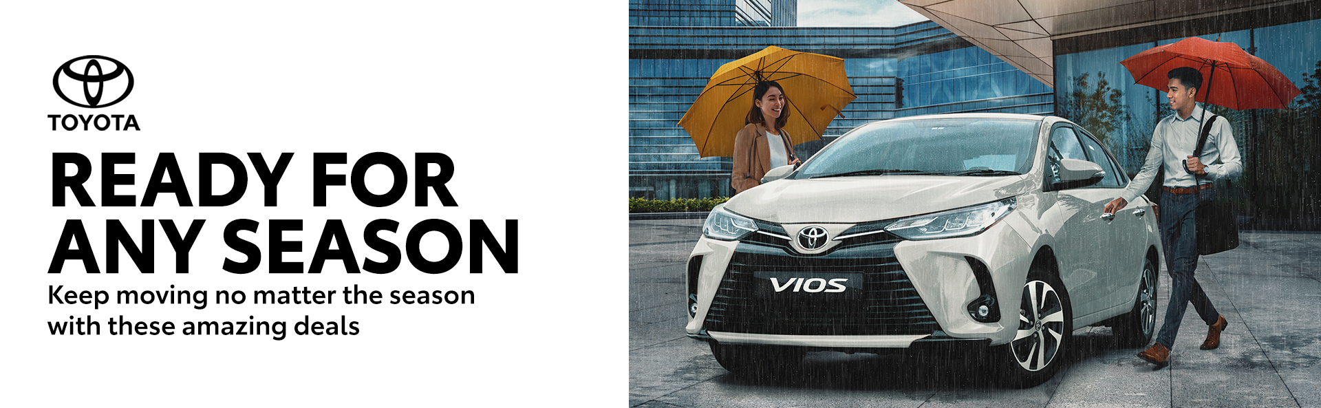 Be ready for any season with Toyota this July
