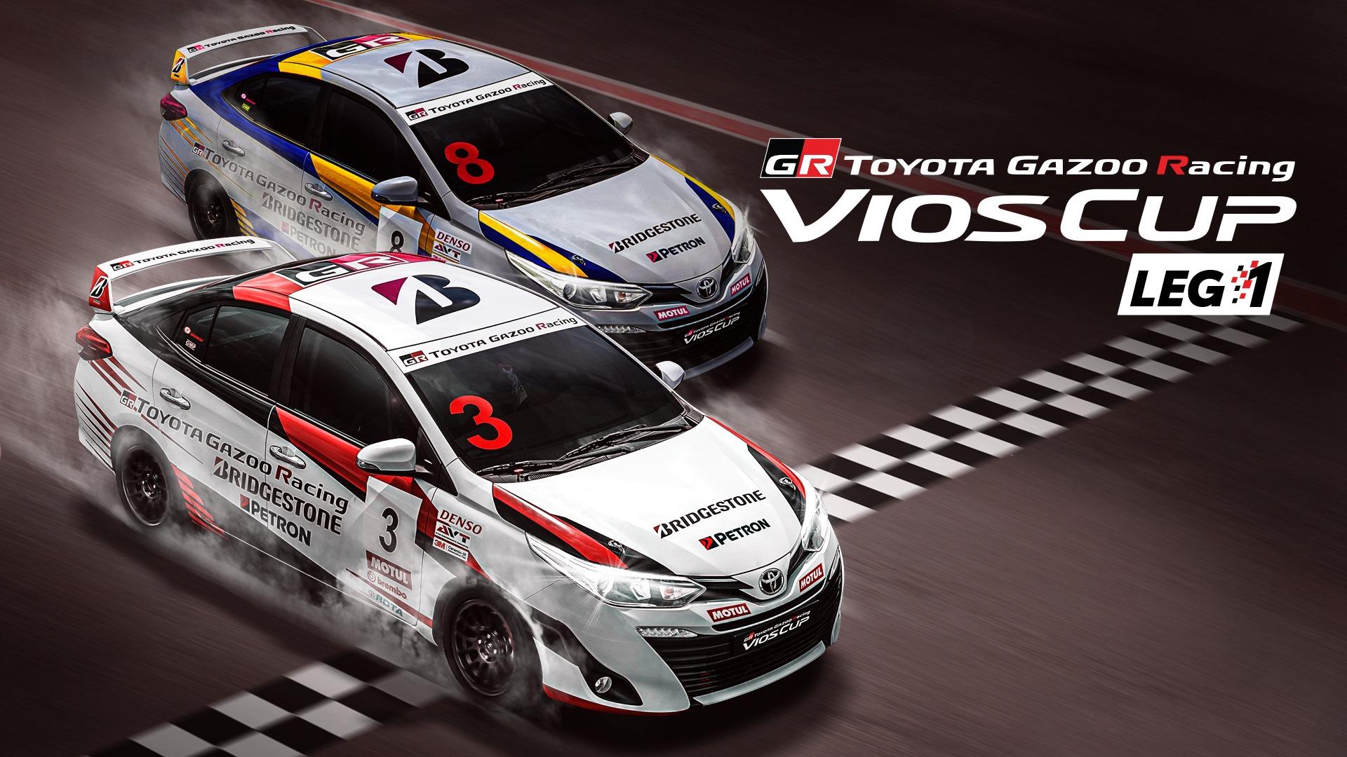 TOYOTA GAZOO Racing Vios Cup returns,  goes online for heart-pumping season Thumbnail