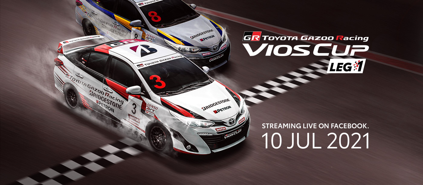 Toyota Gazoo Racing Vios Cup Returns Online