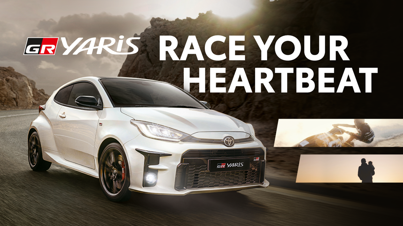 The GR Yaris races your heartbeat as it officially launches in the PH