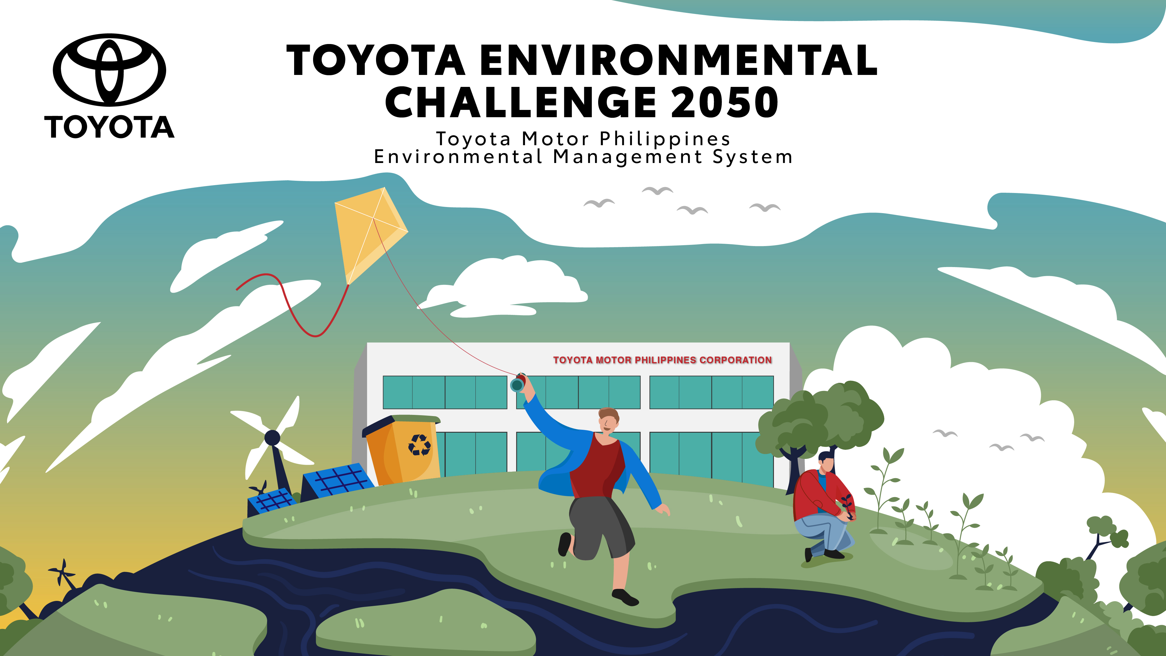 Toyota Motor Philippines pursues environment protection by Thinking Globally, Acting Locally
