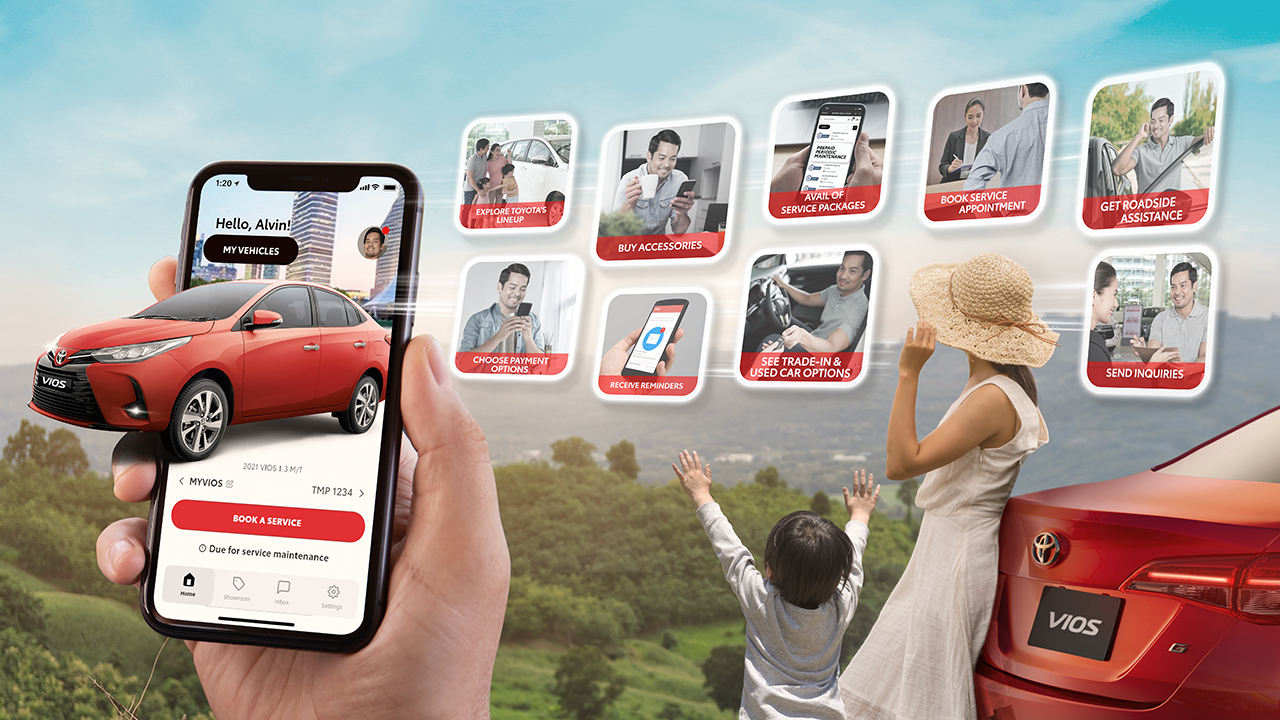 5 ways to make car ownership easier through the new myTOYOTA app!