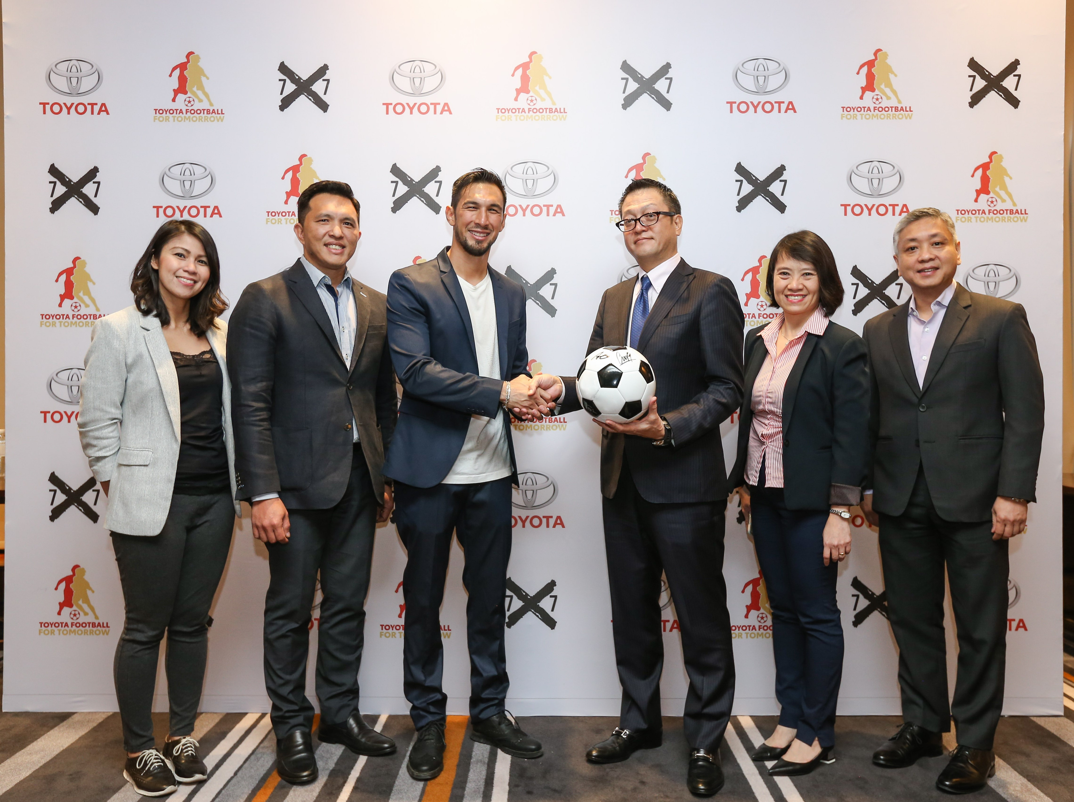 Toyota Kicks Off Football For Tomorrow Program In The Philippines