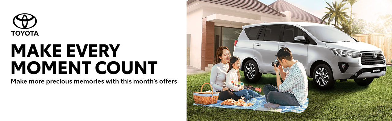 Make Every Moment Count with Toyota this September