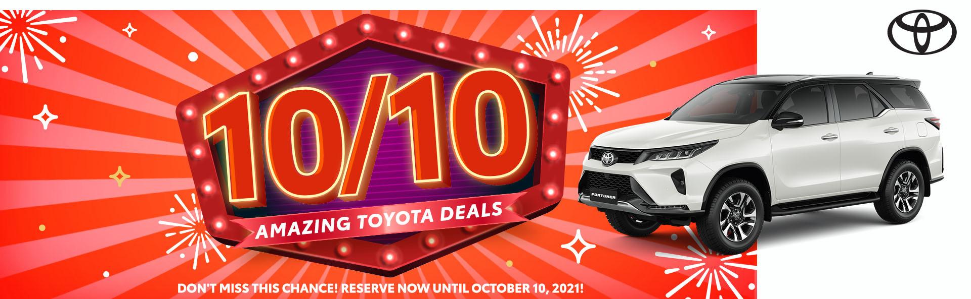 Amazing Toyota Deals