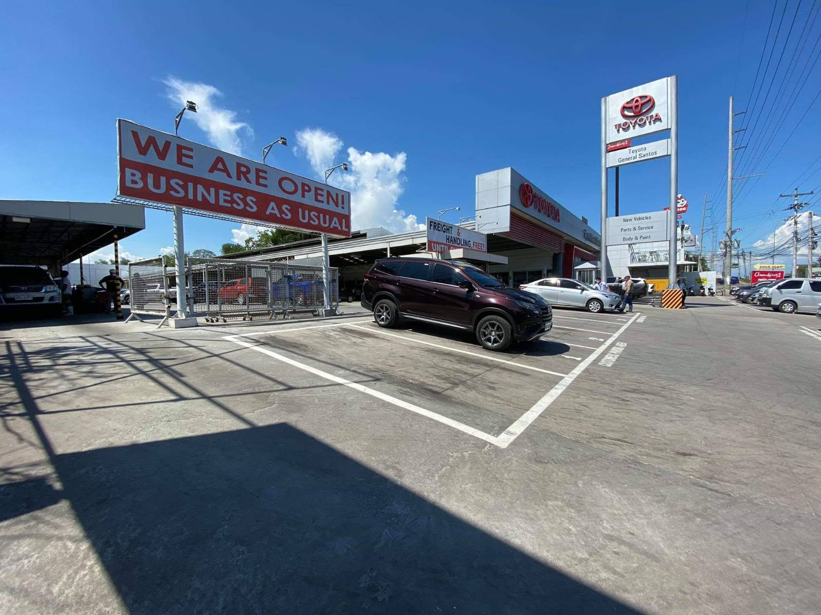 Restart Operations For Toyota Dealer Network After The Ecq