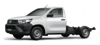 Hilux Fleet 2.4 4x2 Cab & Chassis M/T