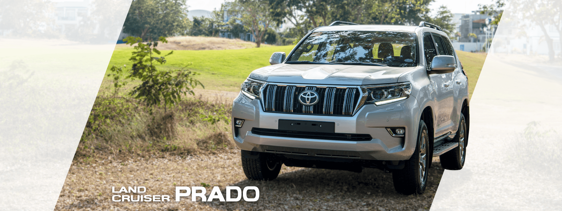 Land Cruiser Prado Desktop Banner