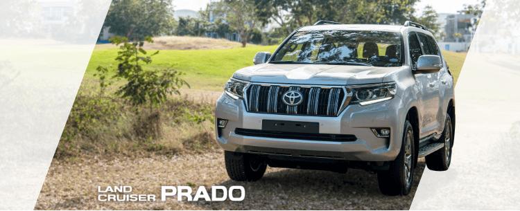 Land Cruiser Prado Mobile Banner