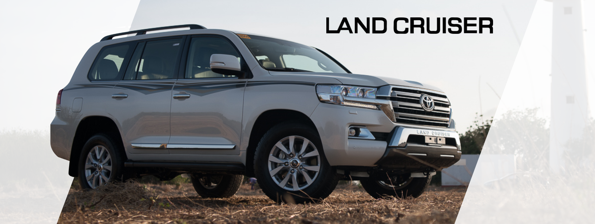 Land Cruiser Desktop Banner
